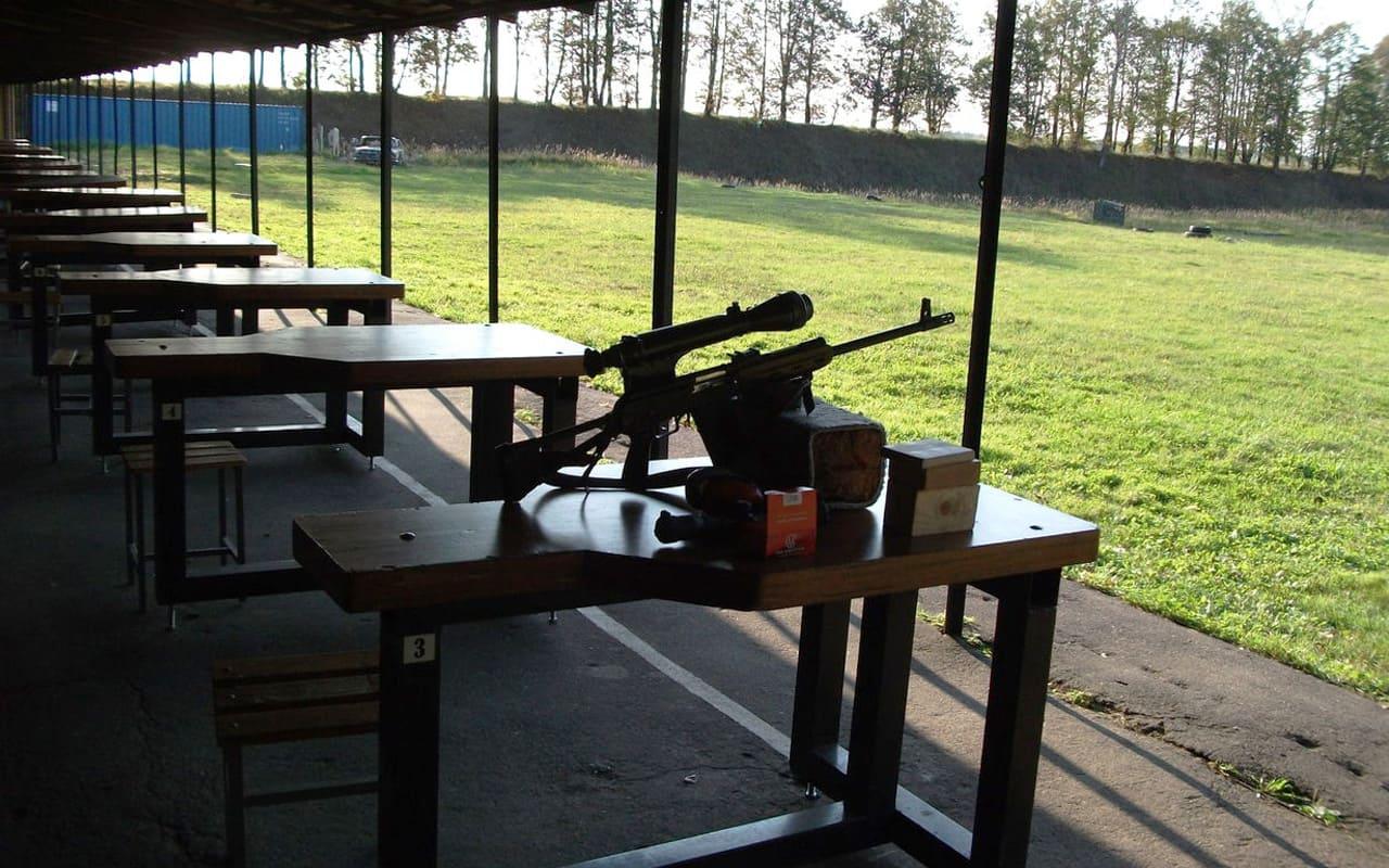 Пулевая стрельба из служебного оружия
